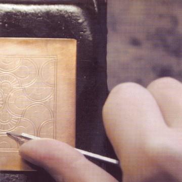 Copper engraving